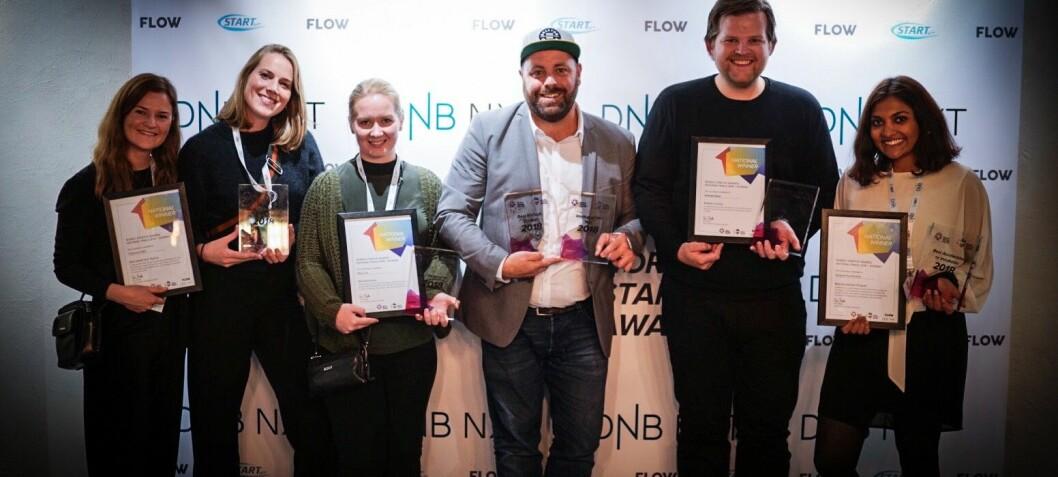 Payr til topps i Norwegian Startup Awards: Se alle vinnerne her