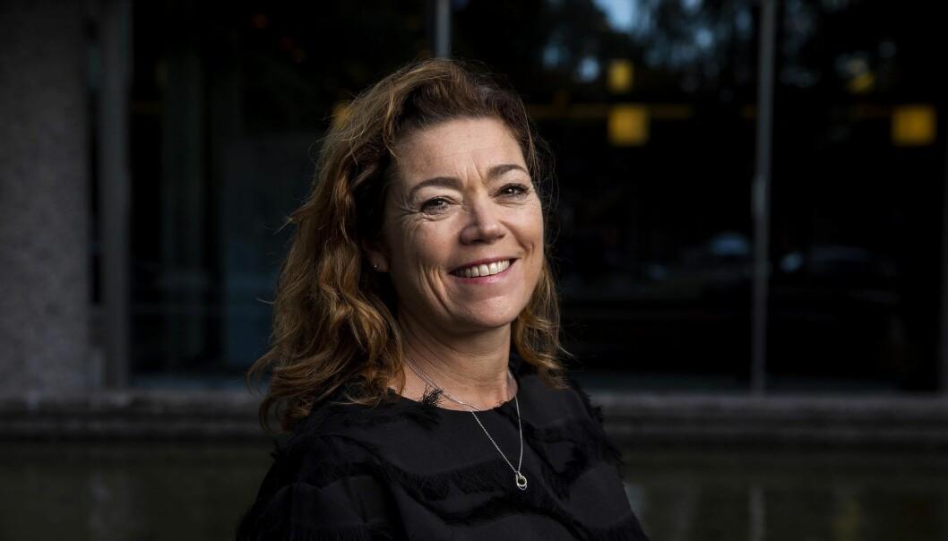 Kristin Skogen Lund er ny konsernsjef i Schibsted. Foto: Tore Meek / NTB scanpix