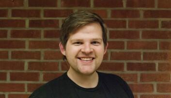 Andreas Nilsen i Flow Coworking. Foto: Privat