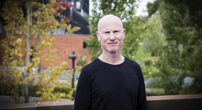 Per-Otto Wold ble inspirert til å gründe Spond, etter at han selv hadde barn i idretten. Foto: Per-Ivar Nikolaisen