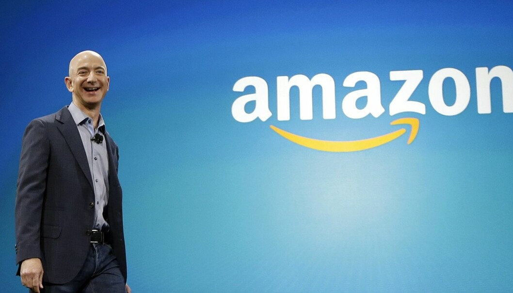 Jeff Bezos, daglig leder for Amazon. Foto: AP Photo/Ted S. Warren, File