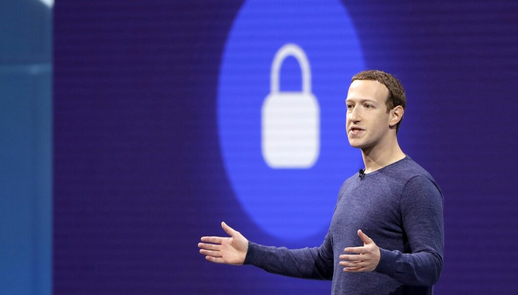 Facebooks gründer og daglige leder, Mark Zuckerberg. Foto: AP Photo/Marcio Jose Sanchez, File.