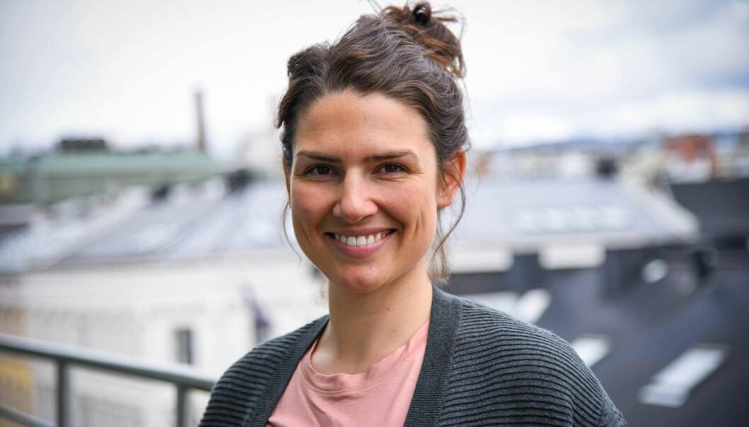 Ida Sørby, global innovasjonsrådgiver i Flyktninghjelpen. Foto: Flyktninghjelpen
