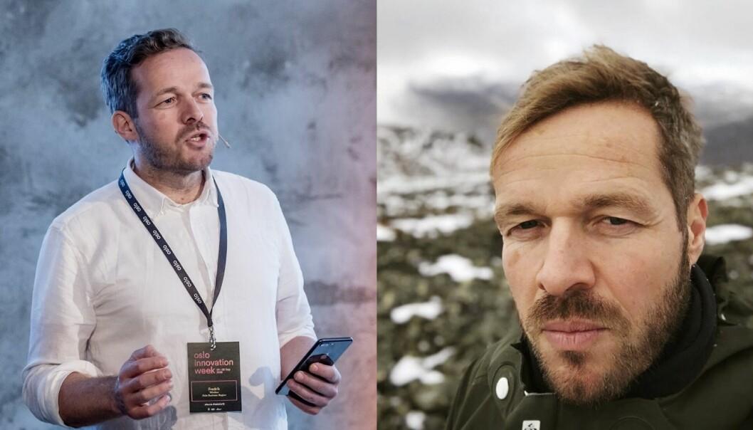 Fredrik Winther har nylig sluttet i Oslo Business Region, og forteller at han... Foto: Oslo Business Region / Privat