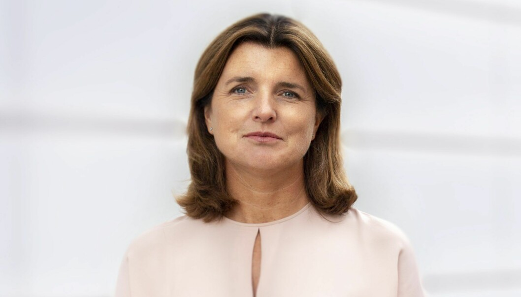 Administrerende direktør i Lånekassen, Nina Schanke Funnemark. Foto: Lånekassen