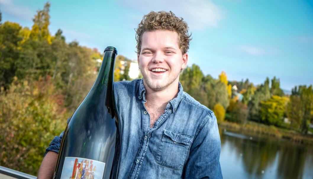 Jon Trygve Hegnar, daglig leder i Smakeappen. Foto: Vilde Mebust Erichsen