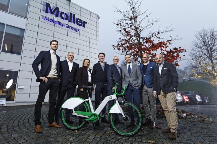Møller Mobility Group utvider sin mobilitetssatsing.