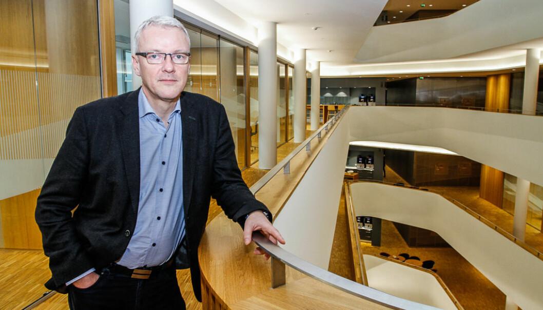 Torvald Kvamme, direktør for kundeinnsikt og tjenesteutvikling i Sparebanken Vest.