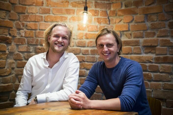 Nik Storonsky har pekt ut Espen Myklebust(t.v.) som Norges-sjef og den som skal sørge for at Revolut lykkes på norsk jord. Foto: Per-Ivar Nikolaisen