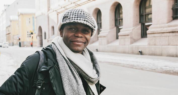 Olivier Mukuta. Foto: Benedicte Tandsæther-Andersen