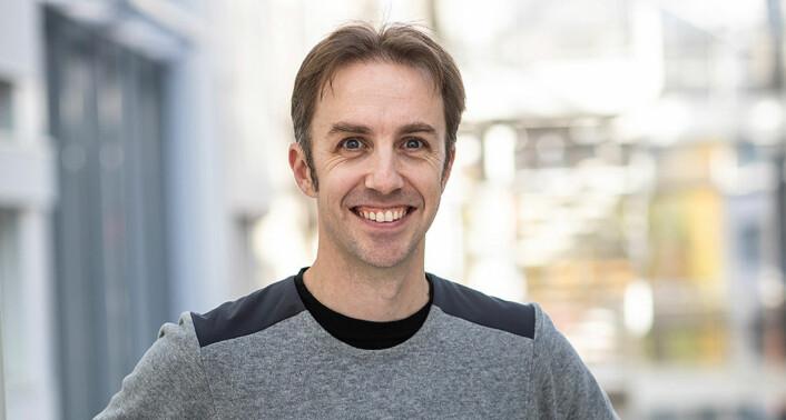 Jonathan Camp blir ny CSO i Intelecy. Foto: Håkon Vikør Treider