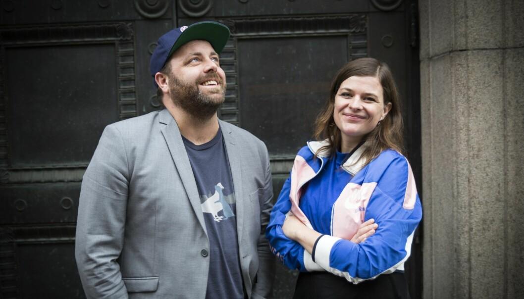 Partnere privat og i business, Espen og Åste Einn i Payr. Foto: Per-Ivar Nikolaisen