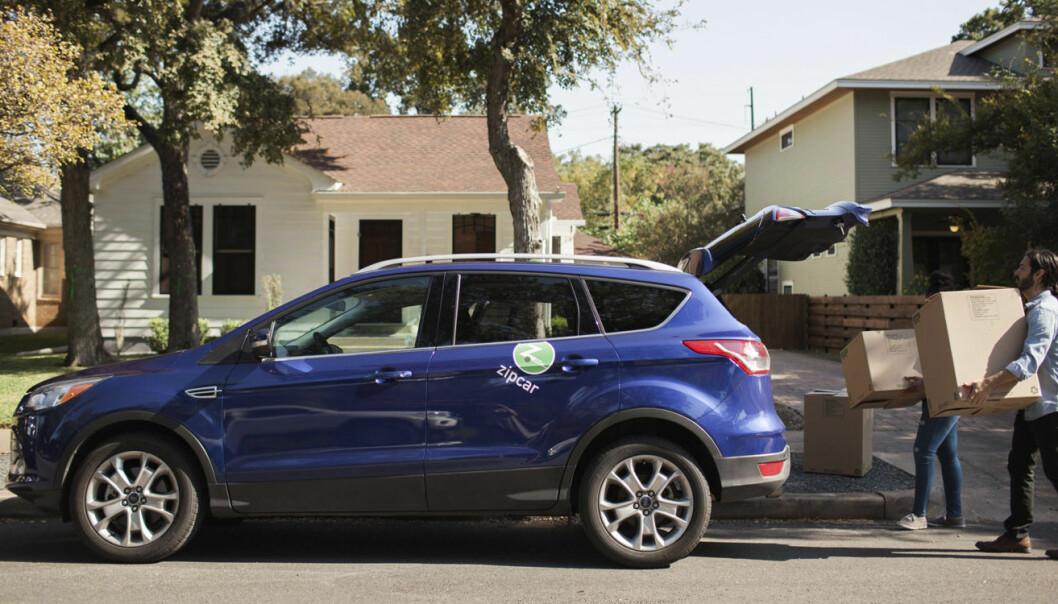 Zipcar kommer til Oslo, men inntil videre er det bare Obos-medlemmer som får benytte seg av transporttjenester fra selskapet. Foto: Zipcar