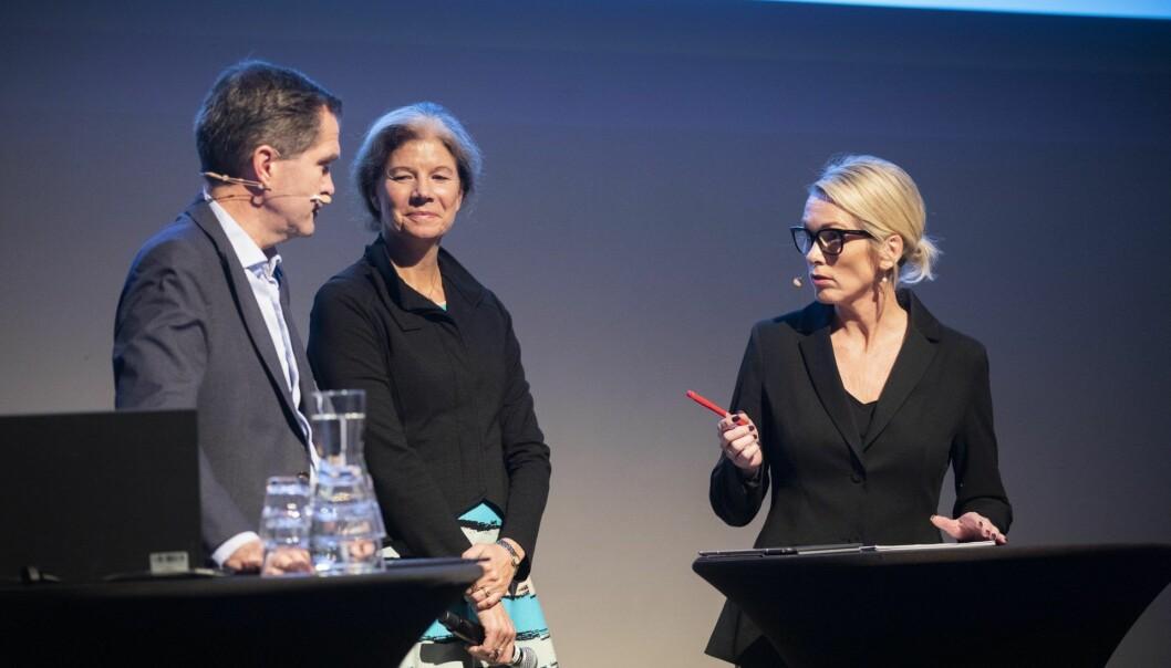 Siva, Norges Forskningsråd og Innovasjon Norge avslørte i dag hvilke miljøer som blir tatt opp i klyngeprogrammet Norwegian Innovation Clusters. Foto: Tom Hansen/Innovasjon Norge