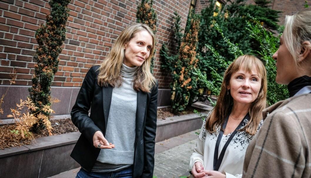 Siv Eide og Rannveig Fadum i Innovasjon Norge. Foto: Vilde Mebust Erichsen