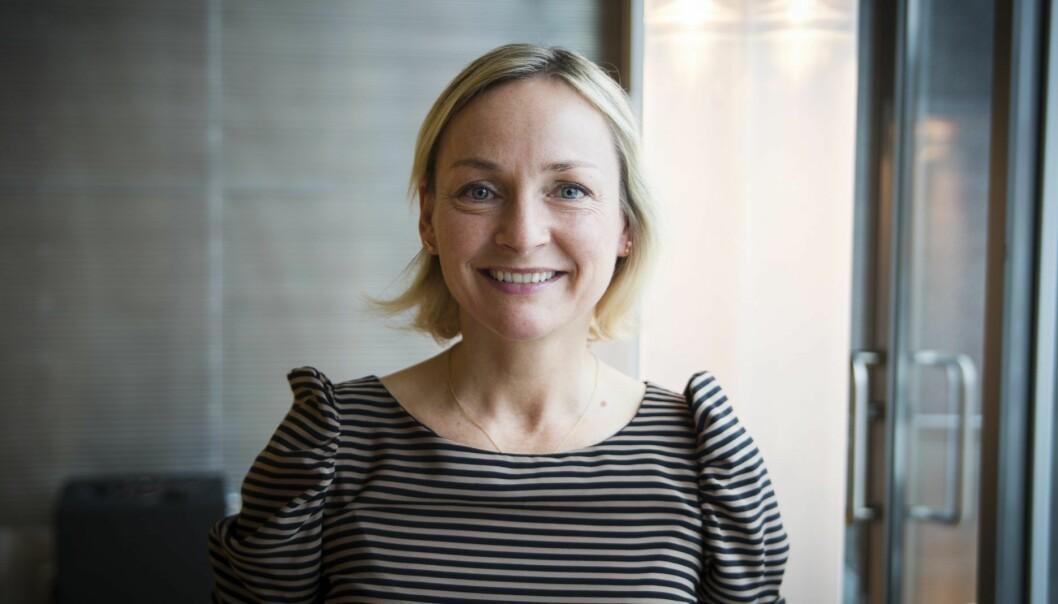 Direktør for næringspolitikk og fintech-ekspert Liv Freihow i IKT-Norge. Foto: Per-Ivar Nikolaisen