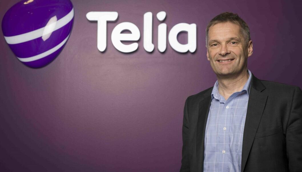 Abraham Foss, CEO i Telia Norge. Foto: Presse