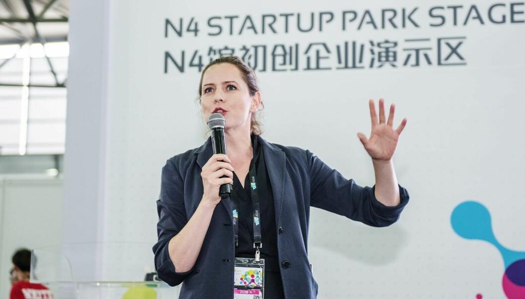 Heidi Berg i nHack. Foto: Presse