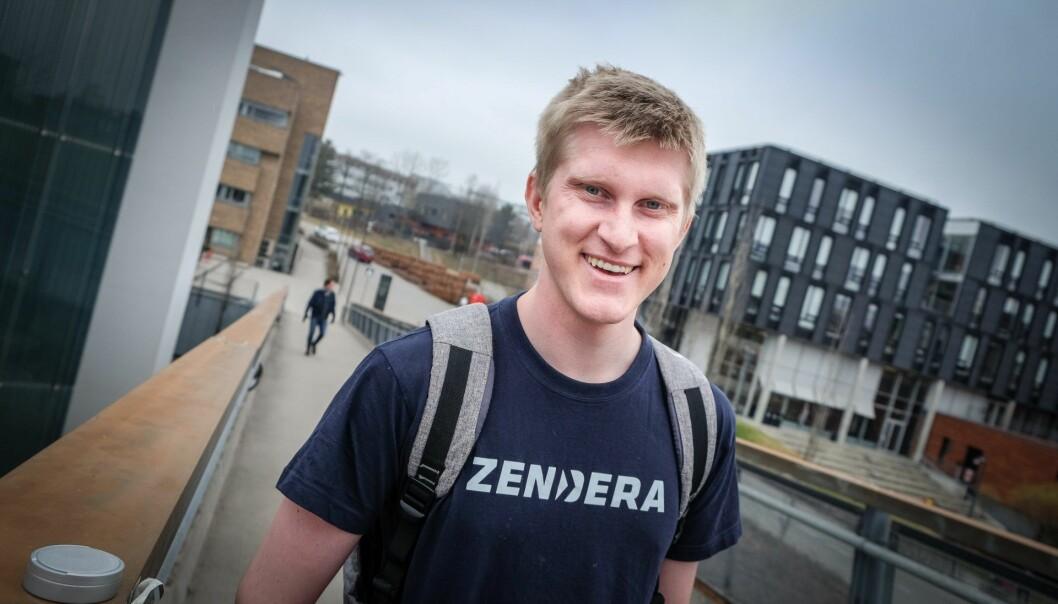 Gründer Kim Iversen, daglig leder i Zendera. Foto: Vilde Mebust Erichsen