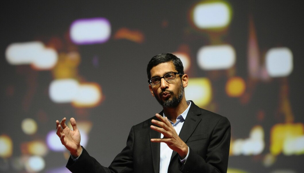 Sundar Pichai, senior vice president of Android, Chrome and Apps. Foto: AP Photo/Manu Fernandez
