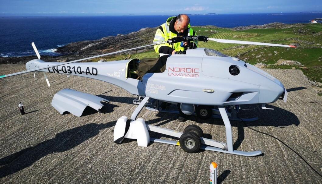 Nordic Unmanned vant i fjor en historisk kontrakt med EUs byrå for sjøsikkerhet. Arkivfoto: Nordic Unmanned