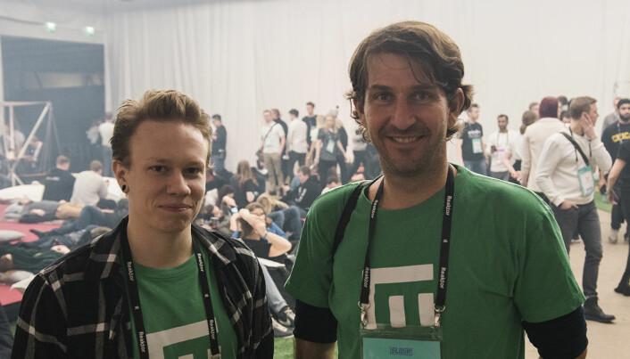 Gjermund Bjaanes og Wilhelm Myrer i Empower. Foto: Benedicte Tandsæther-Andersen