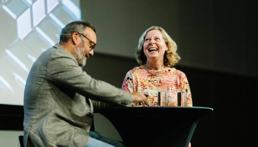 Berit Svendsen under The Shift 2018. Foto: Photo: Jan Khür