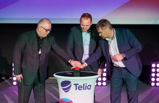 Telia ruller ut 5G-pilot: Lanserer verdens første 5G-kino
