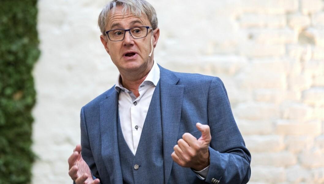 Bjørn Amundsen har siden 1994 vært dekningsdirektør for mobilnettet i Telenor. Foto: Gorm Kallestad / NTB scanpix