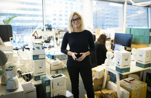 Gründerne eier stadig mindre, og utenlandske investorer ble det aldri noe av: Karen Dolva lever godt med det
