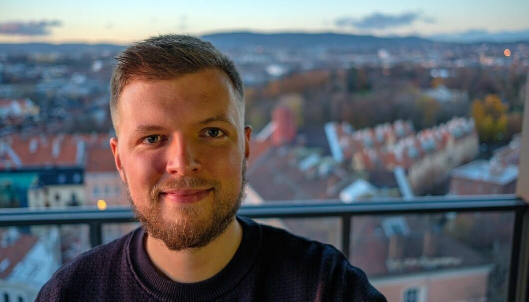 Nikolai Norman Andersen går fra Bekk til Confere. Foto: Privat