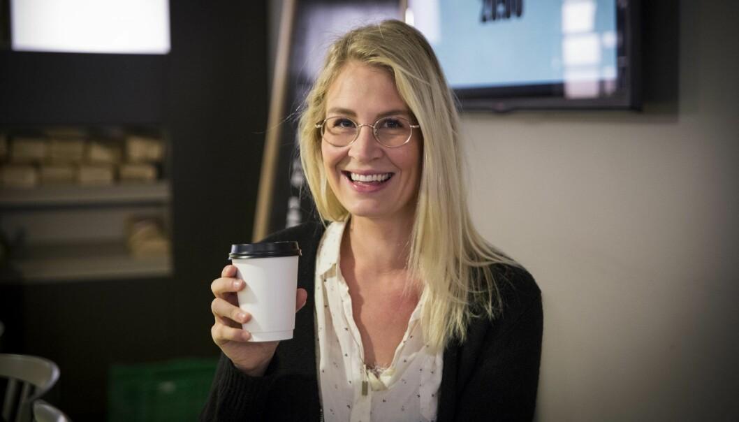 Meri Sørgaard begynner i StartupLab. Foto: Per-Ivar Nikolaisen