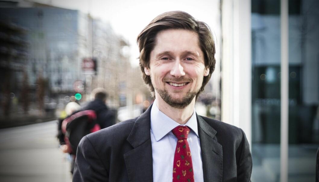 Rasmus Figenschou, head of new business, i DNB. Foto: Per-Ivar Nikolaisen