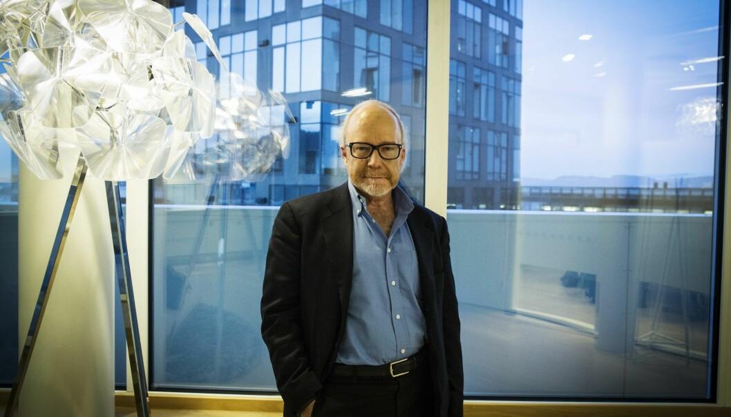 Professor John Hagel leder Centre for The Edge i Deloitte. Foto: Per-Ivar Nikolaisen
