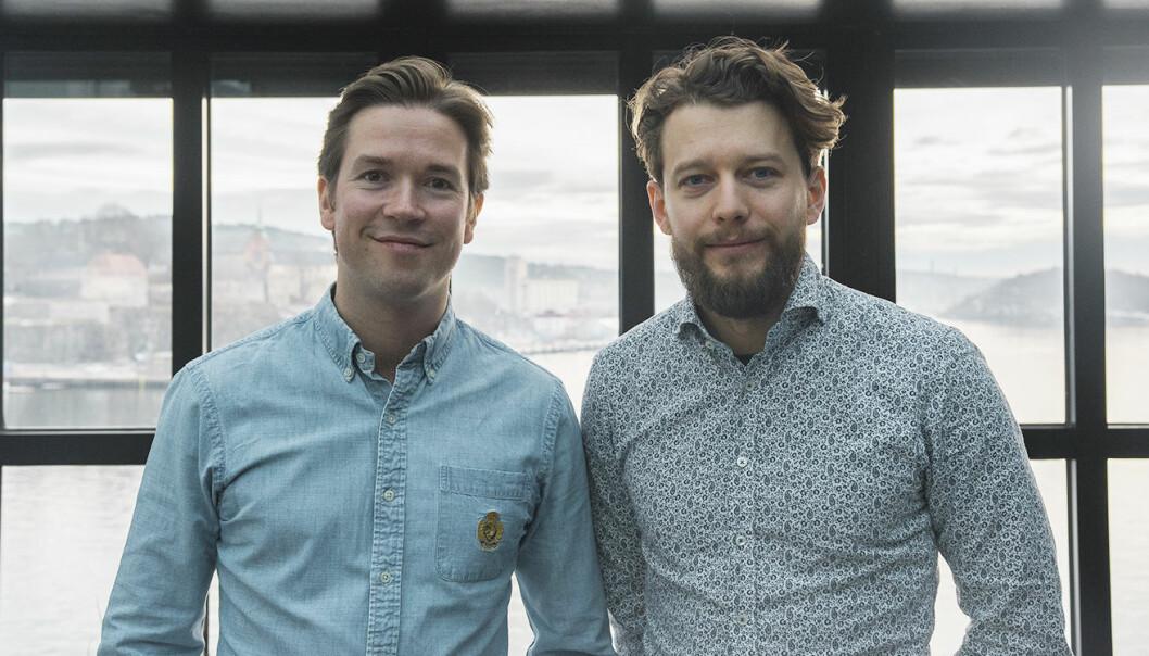 Kristoffer Næss Almeland og Nicolai Kirkeng Vennerød i Vilect. Foto: Benedicte Tandsæther-Andersen