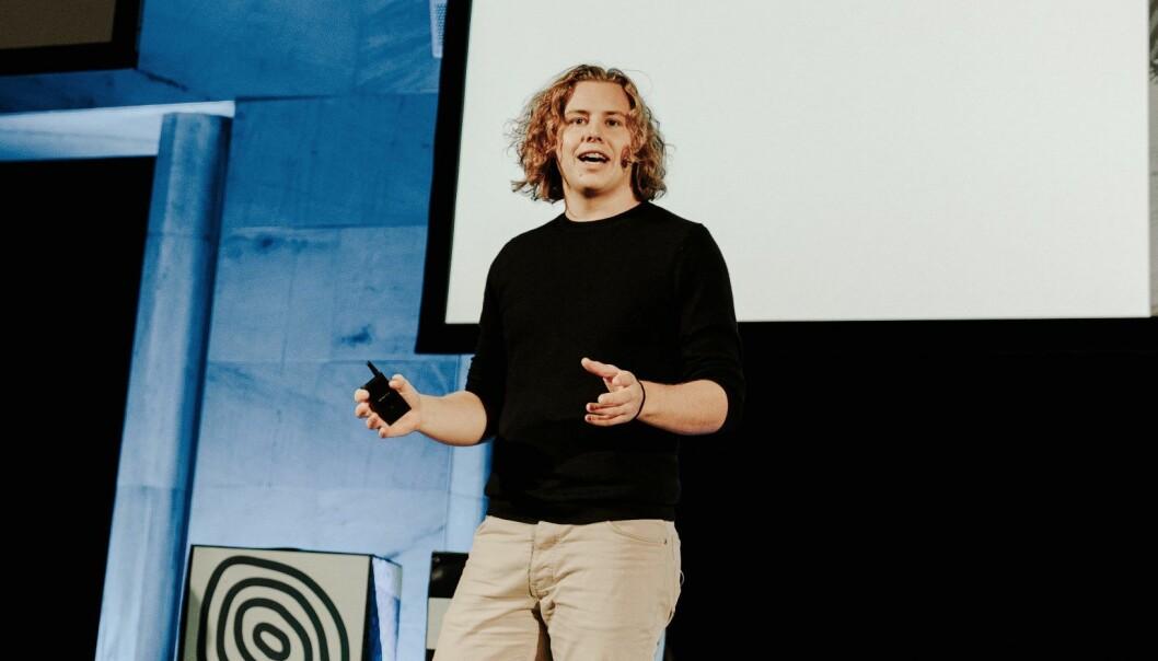 Tellef Tveit i Learnlink. Foto: Jan Khür, www.jankhur.com/Oslo Innovation Week
