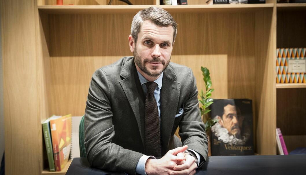 Henrik Lie-Nielsen i investorkollektivetTripod Capital Collective. Foto: Per-Ivar Nikolaisen