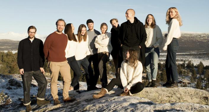Livid-teamet. Foto: Livid