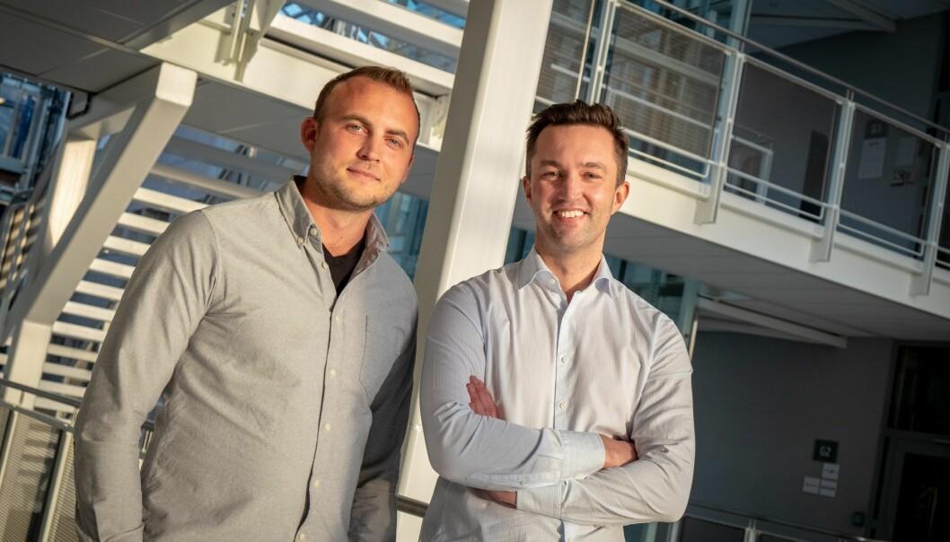Vegard Krogh-Reinsnes og Karl Martin Lind i Eyr. Foto: Vilde Mebust Erichsen