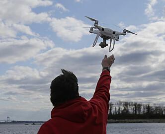 Vil tillate nattflyvning med drone -- for hurtiglevering av nettkjøp