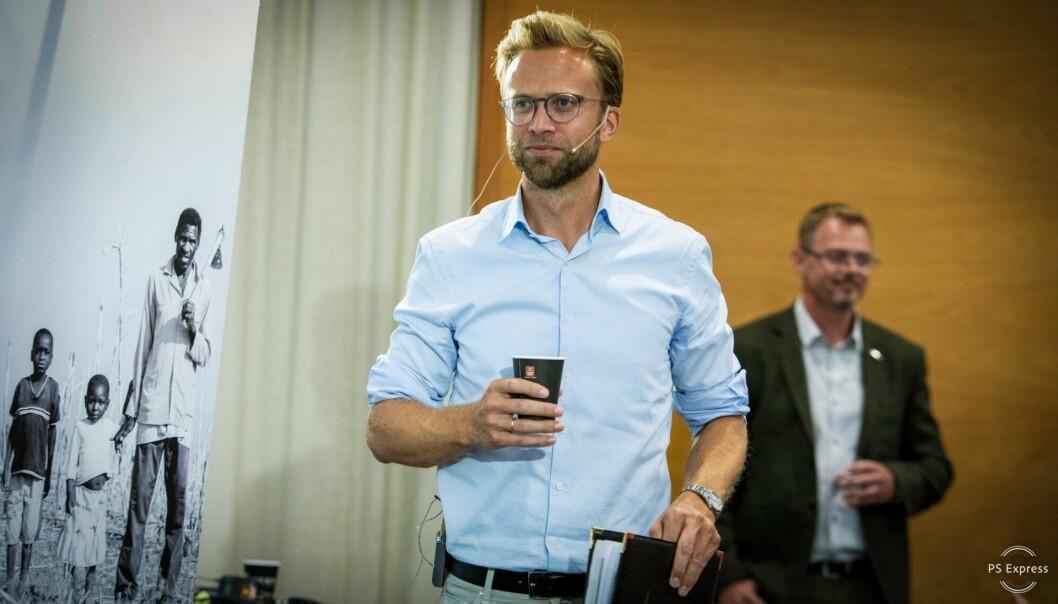 Nikolai Astrup (H) blir ny digitaliseringsminister.