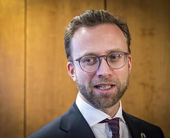 Digitaliseringsminister Nikolai Astrup: «Ingen IT-ekspert, men likevel trygg»