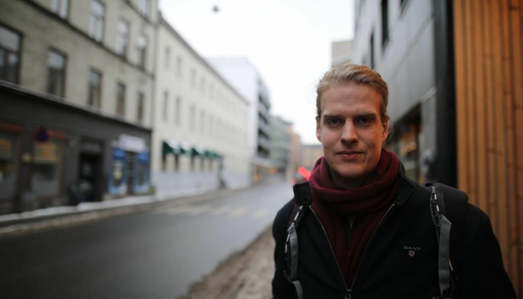 Torbjørn Bull Jenssen, CEO i Arcane Crypto. Foto: Lucas H. Weldeghebriel