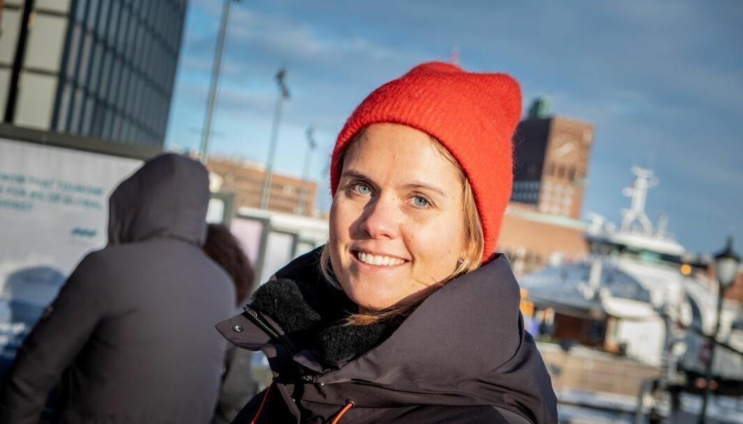 Maren Hjorth Bauer, managing partner og grunnlegger av Fynd Ocean Ventures. Foto: Vilde Mebust Erichsen