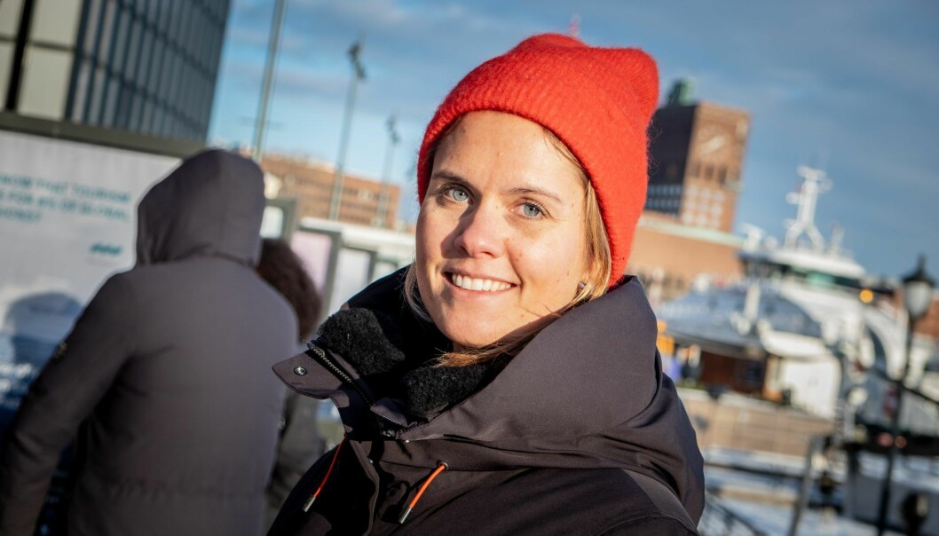 Maren Hjorth Bauer, leder av Katapult Ocean. Foto: Vilde Mebust Erichsen