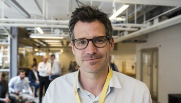 Alexander Woxen i StartupLab. Foto: Per-Ivar Nikolaisen