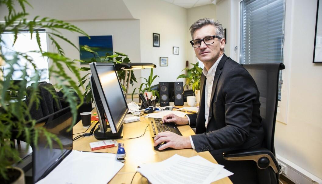 Jurist, forfatter og direktør i Datatilsynet, Bjørn Erik Thon. Foto: Mariam Butt / NTB scanpix