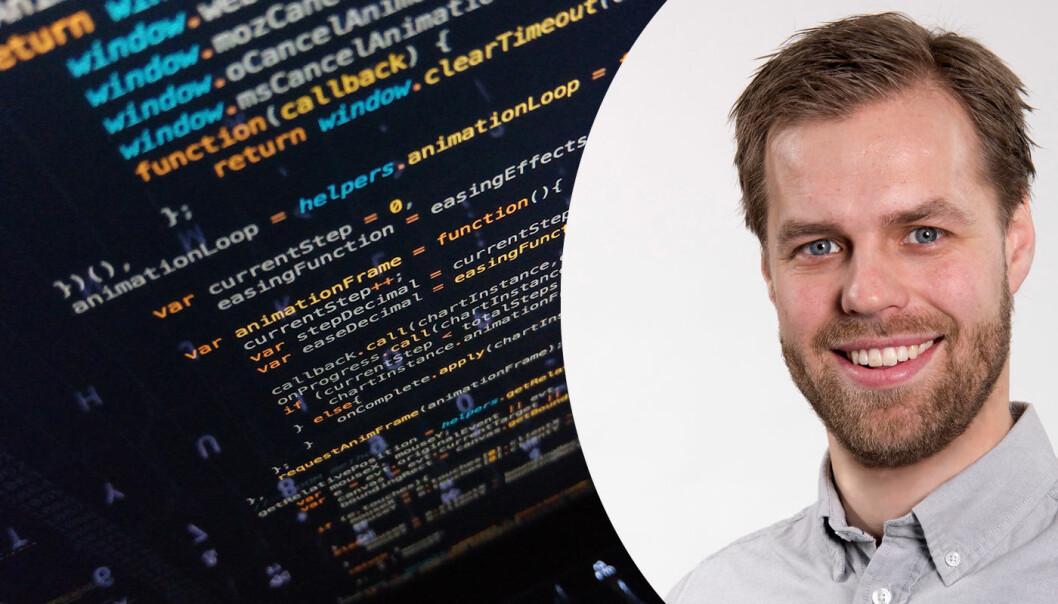Erlend Andreas Gjære om IT-sikkerhet. Foto: Unsplash / privat