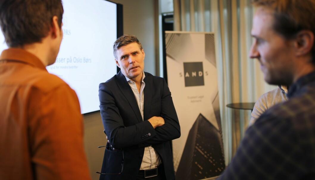 Statssekretær Geir Olsen (V). Foto: Lucas Weldeghebriel