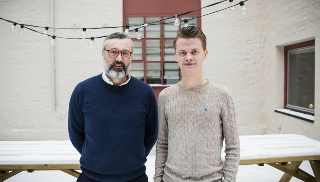 Joachim Levin og Simen Vatne går sammen. Foto: Per-Ivar Nikolaisen